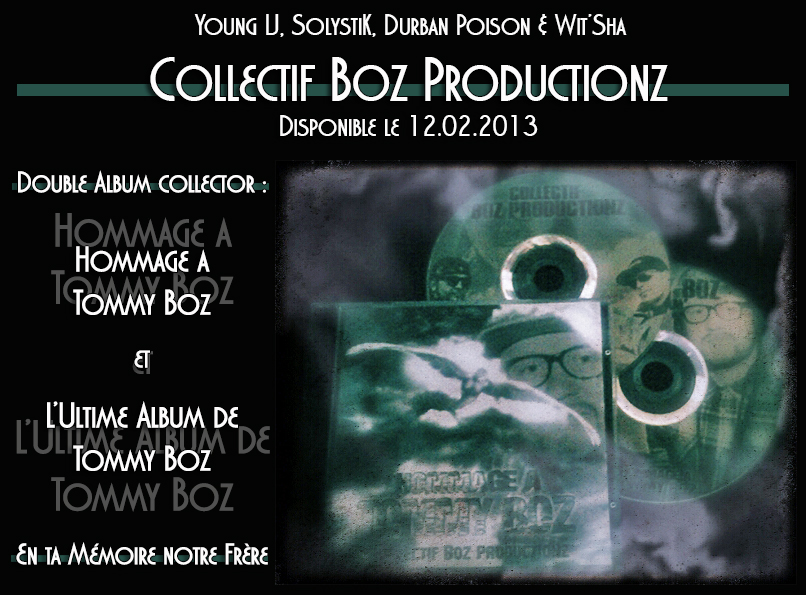 Collectif Boz Productionz - Double CD 2013